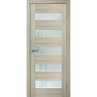 Полотно дверное остеклённое ОМИС Форте ПО Лиана дуб белёный