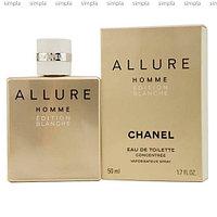 Chanel Allure Homme Edition Blanche Concentree туалетная вода объем 50 мл тестер (ОРИГИНАЛ)