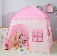 Детская игровая палатка-домик Принцесса 55 розовый