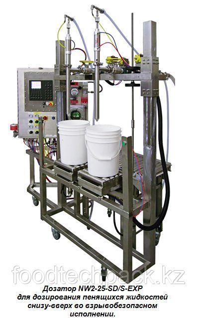 Дозировочная машина CI NW2-25-SD для весового дозирования жидких и вязких веществ