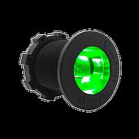 Авто-розетка гнездо прикуривателя с подсветкой на 12 и 24 вольта зеленый
