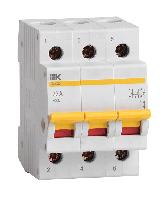 Выкл. нагрузки ВН-32 (3ф)  32А IEK (4/80)