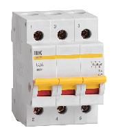 Выкл. нагрузки ВН-32 (3ф)  63А IEK (4/80)