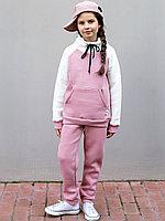 Костюм д/девочки, пудра арт.1615/189/002