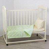 Покрывало детское Этель Ультрастеп Нежность, размер 110х150 +-2 см, цвет зелёный, 90 г/м2