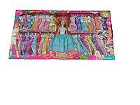 Кукла с платьями(40шт)