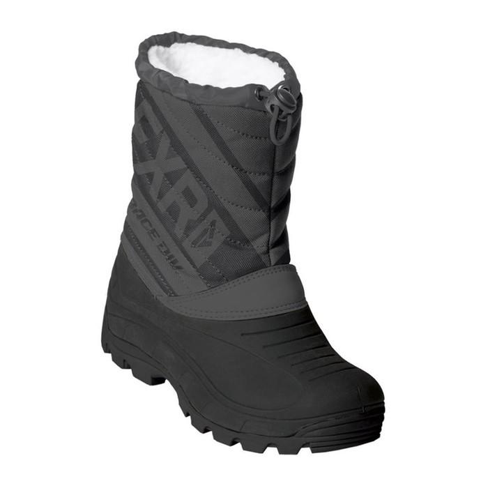 Ботинки детские FXR Octane, размер 31, чёрный, серый