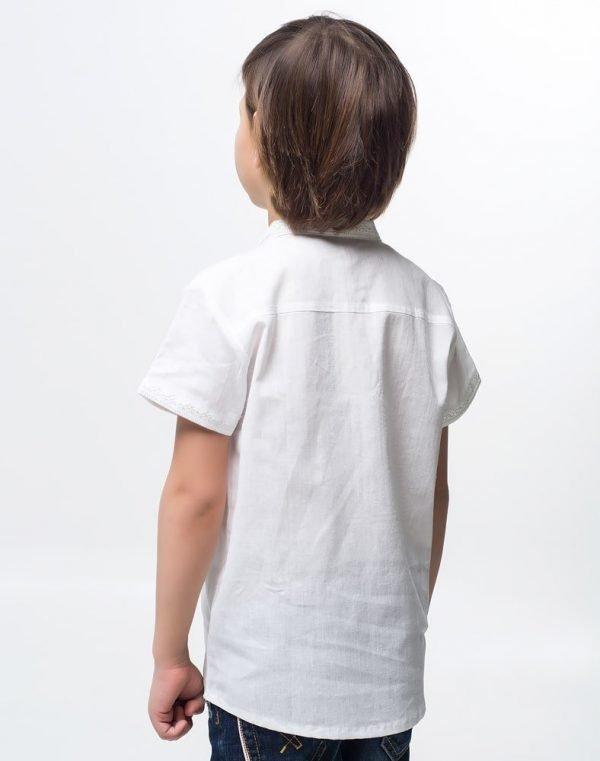 Вышиванка для мальчика Дубочок КР хлопок - фото 2