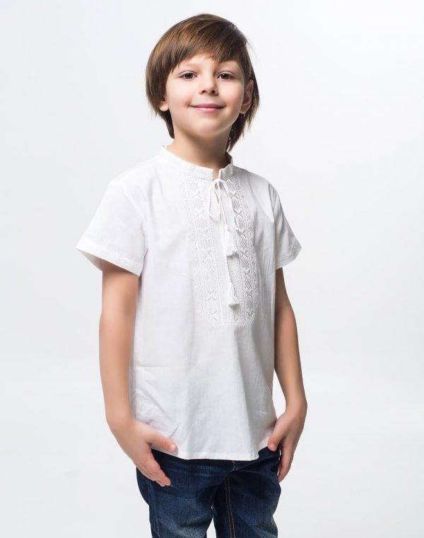 Вышиванка для мальчика Дубочок КР хлопок - фото 3