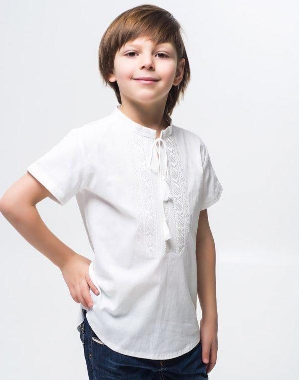 Вышиванка для мальчика Дубочок КР хлопок - фото 1
