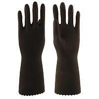 Перчатки КЩС Т-1 L-U-03 (12/120) (латекс, внутренний слой Silver, толщ.0,45мм, дл.300мм)