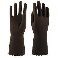 Перчатки КЩС-2 L-U-032 (латекс, без внутреннего покрытия, толщ.0,40мм, дл.300мм)
