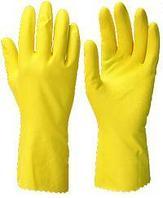 """Перчатки """"ЧИСТОТА"""" р.S,M,L,XL, в уп.144пар (латекс, хлопковый слой, толщ.0,38мм,дл.300мм.)"""