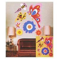Набор для творчества'Создай интерьерную наклейку Бабочки'