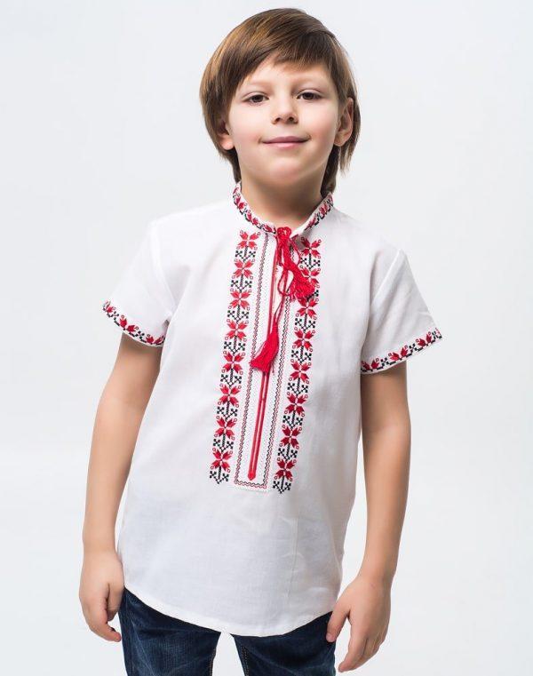 Вышиванка для мальчиков Алатир ДР хлопок короткий рукав - фото 2
