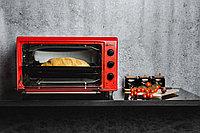 Мини печь Magna MF3615-14RD красный, фото 4