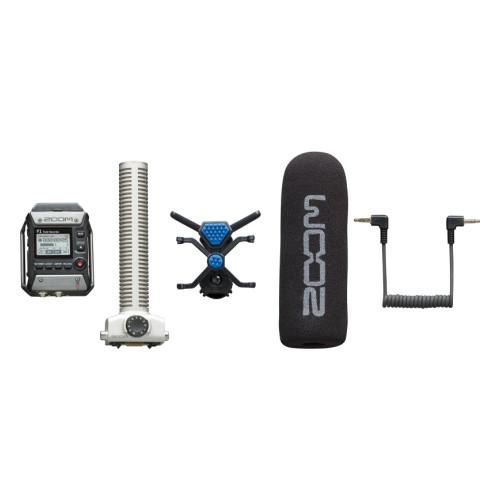 Двухканальный портативный аудио рекордер, Zoom F1-SP - фото 2