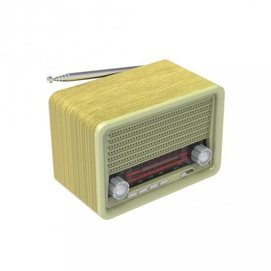 Радиоприемник портативный Ritmix RPR-030 GOLD