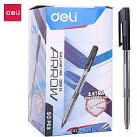 Ручка шариковая Deli Q01020 Arrow черная