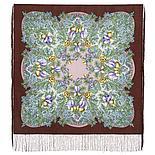 Платок Белой ночи кружевные сны 1844-9 (89х89 см), фото 3