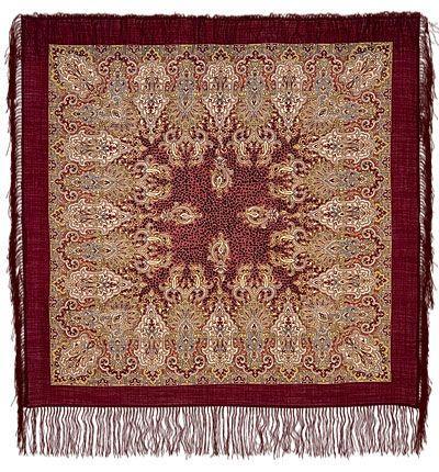 Платок Сады Шираза 855-7 (89х89 см)
