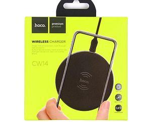 Беспроводной зарядное устройство Hoco CW14 Round Wirelless Charger 5W