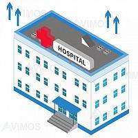 Обслуживание медицинских центров, больниц, клиник.