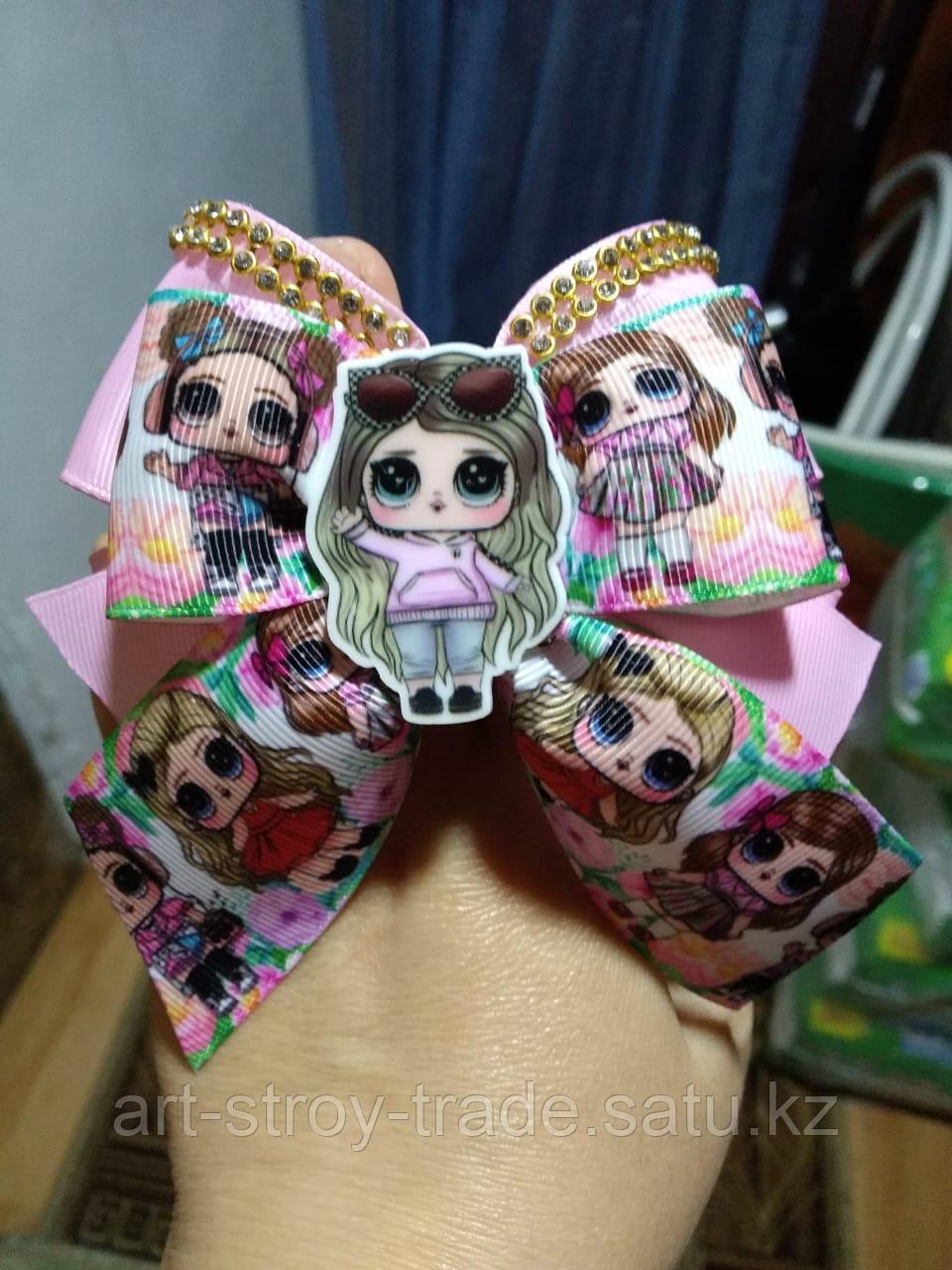 Бантики с куколками Лол ручной работы - фото 2