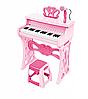 Детские Пианино со стульчиком и микрофоном 328 розовый