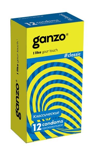 Презервативы GANZO CLASSIC №12 (классические с обильной смазкой)