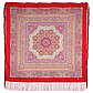 Павлопосадский платок Северное сияние 1625-4 (110х110 см), фото 6