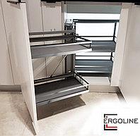 Выкатная корзина для кухни волшебный уголок UNIVERSE ESTETICA KRM05/900-1000