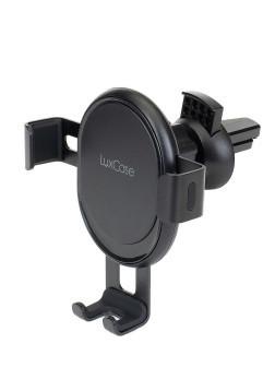 Автомобильный держатель телефона с креплением в решетку обдува
