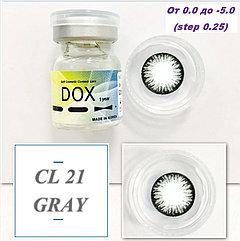 Цветные контактные линзы DOX -1,25