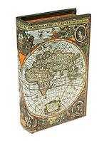 Сейф-книга Карта первооткрывателей