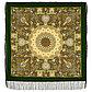 Павлопосадский платок Дикий мед 1712-4 (110х110 см), фото 4