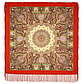 Павлопосадский платок Дикий мед 1712-4 (110х110 см), фото 5