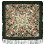 Павлопосадский платок Страна чудес 1624-9 (110х110 см), фото 2