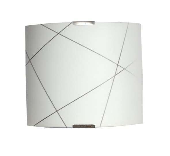 Светильник 300*300 Контур  НПБ 09-60-003 М83 матовый белый/кл штамп металлик ИУ