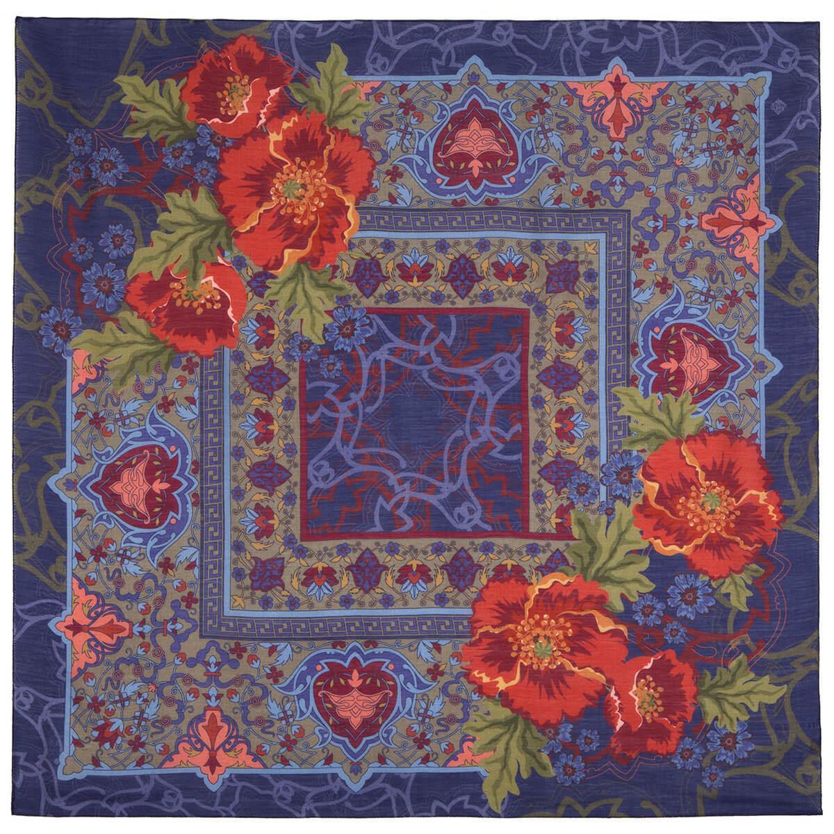 Павлопосадский платок 10465-14 (115х115 см)