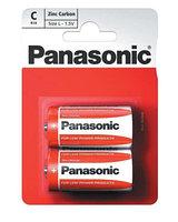 Батарейка солевая PANASONIC Red Zinc С (2B)
