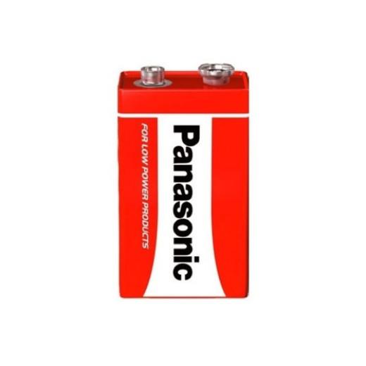 Батарейка солевая PANASONIC Red Zinc крона 1B (1 шт)