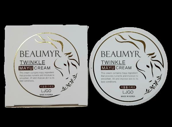 Beaumyr Twinkle Mayu Cream Питательный крем для лица с Лошадиным маслом и Ниацинамидом 100гр.