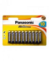 Батарейка щелочная PANASONIC Alkaline Power AA 10B (10 шт)