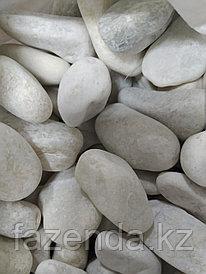 Камни галька мраморная 20 кг (5-10 мм)