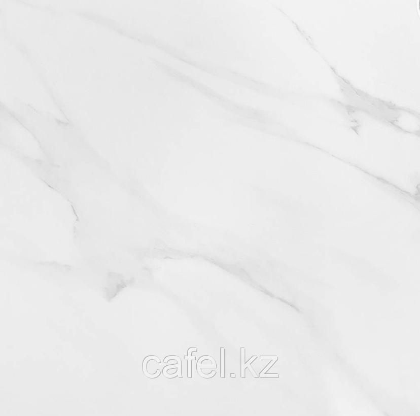 Керамогранит 60х60 белый с серыми прожилками