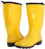 Сапоги резиновые желтые Н-40, 41, 42, 43 р-р
