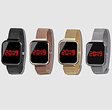 Часы ручные магнитный ремешок, фото 4