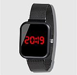 Часы ручные магнитный ремешок, фото 5