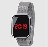 Часы ручные магнитный ремешок, фото 6